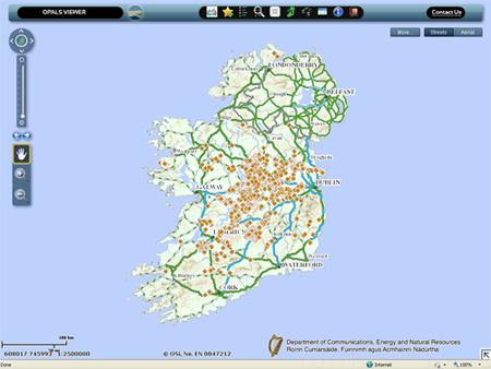 Interactive Map Of Ireland.Interactive Maps